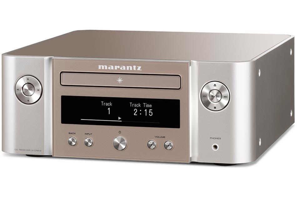 Marantz Melody X (M-CR612) Silver - HiFi All In One sieťový prehrávač s bezdrôtovými technológiami