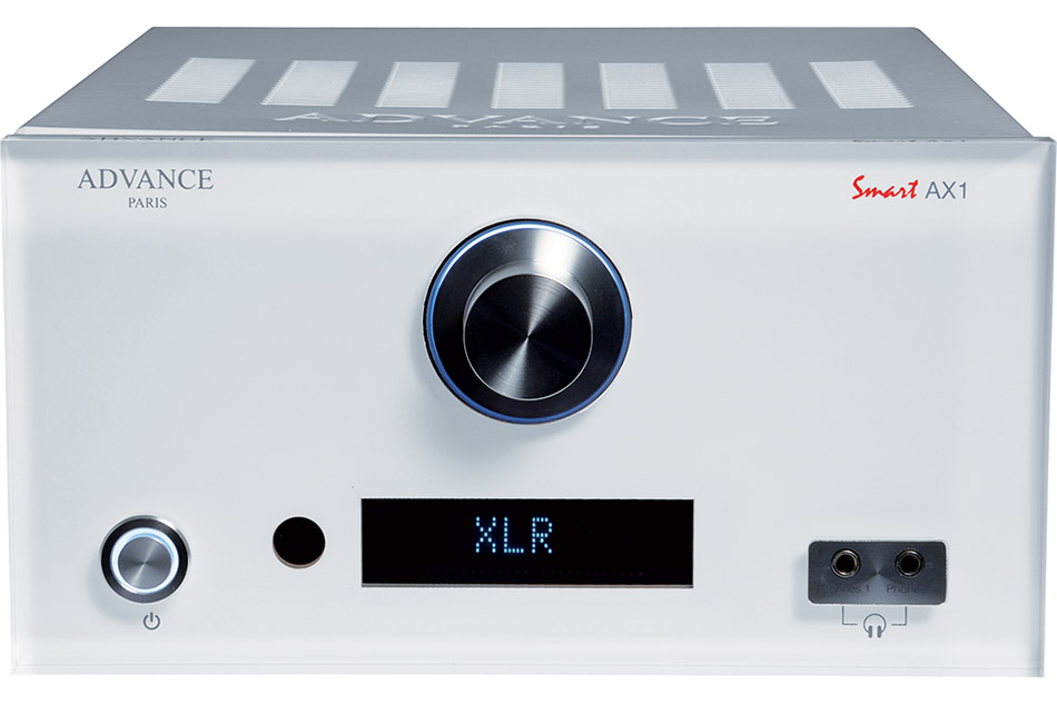 Advance Acoustic AX1 white - integrovaný zosilňovač zo série Advance Paris