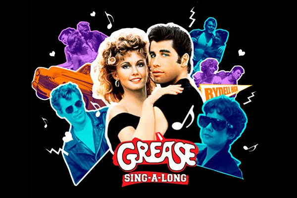 Thursday 21st June – Grease sing-a-long (Marquee screening)