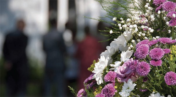 Photo of Funeral Flowers