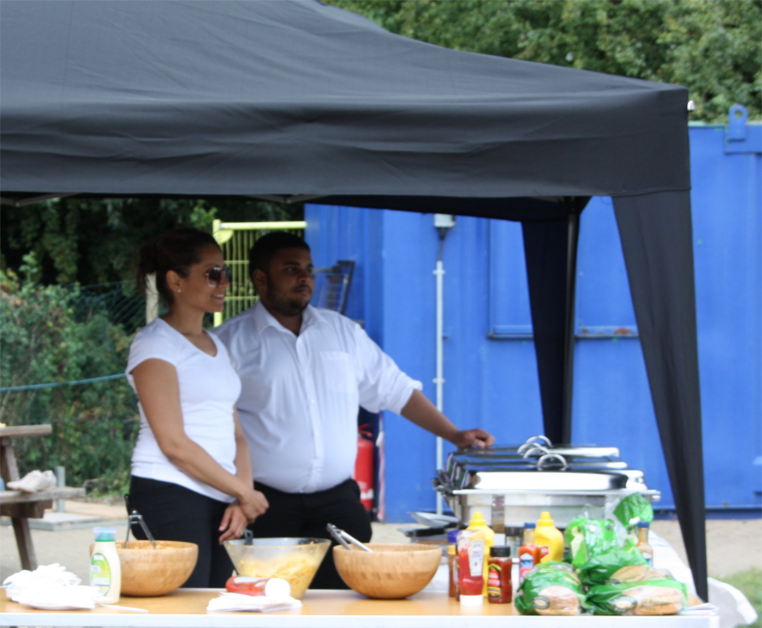 Business Catering for Staff Fun Day London
