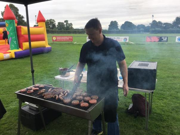 Small BBQ for a Party in Hertfordshire