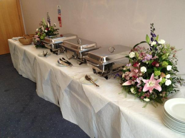Catering for a party in West London