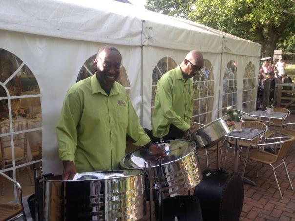 Steel Pan Band Hire available from Trini Caribbean Catering