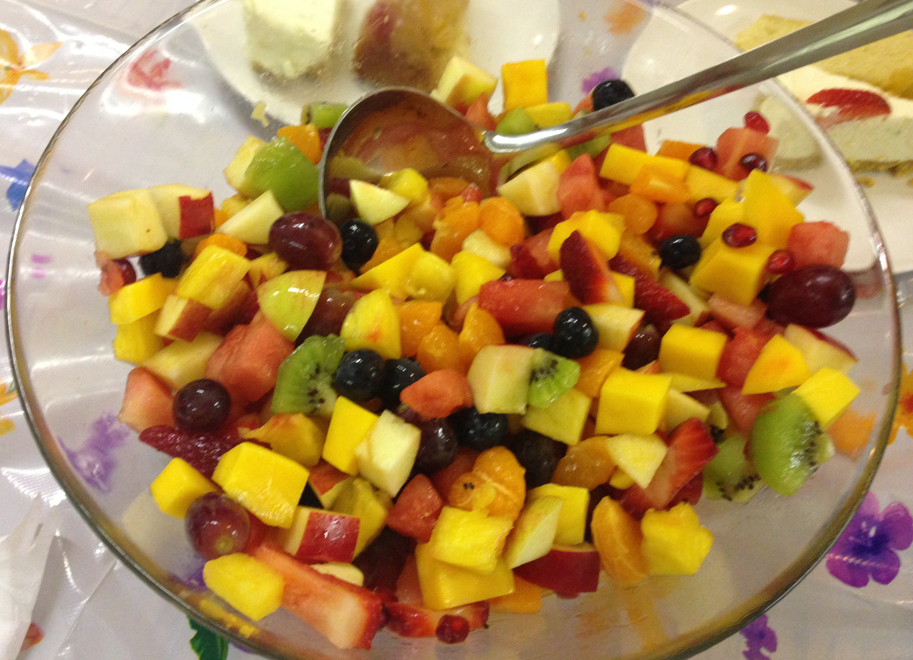Exotic Fruit Salad for a Wedding in London