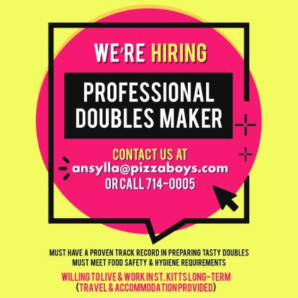 Professional Doubles Maker Vacancy