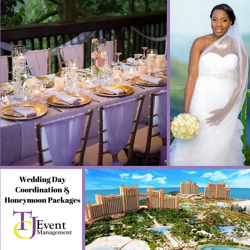 Wedding Day Coordination & Honeymoon Packages