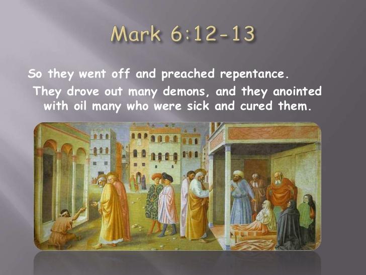 12 Mark 6 Jesus 11 7 Sends Out