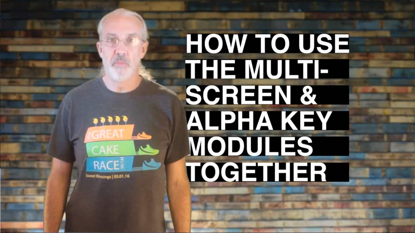 ProPresenter 6 Tutorial: How to use the multi screen & alpha