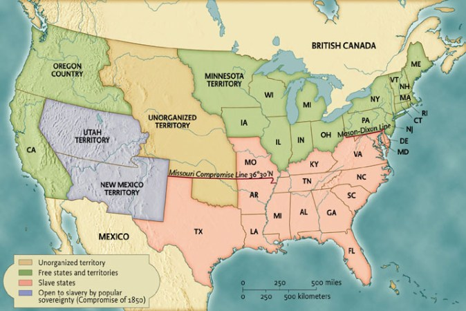 Us map 1850 Unit 6 Maps Images Charts
