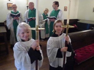 new acolytes at Triity