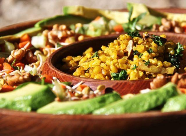 Turmeric & Mushroom Rice
