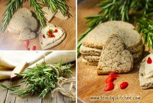 Rosemary oatcakes by Trinity