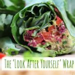 Look after yourself kale wrap by Trinity
