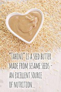 Tahini sesame seeds