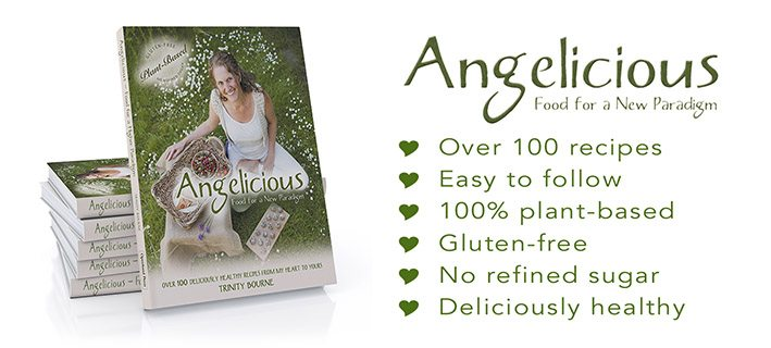 Angelicious Book Banner Book page