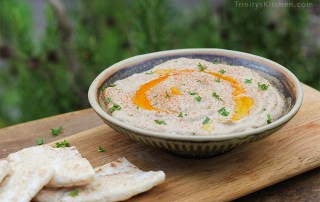Baba ganoush with smoked paprika