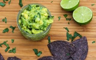 Parsley & Lime Guacamole - delicious gluten-free vegan recipe by Trinity #vegan #guacamole #limes