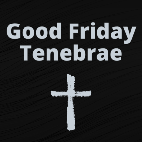 Good Friday Livestream
