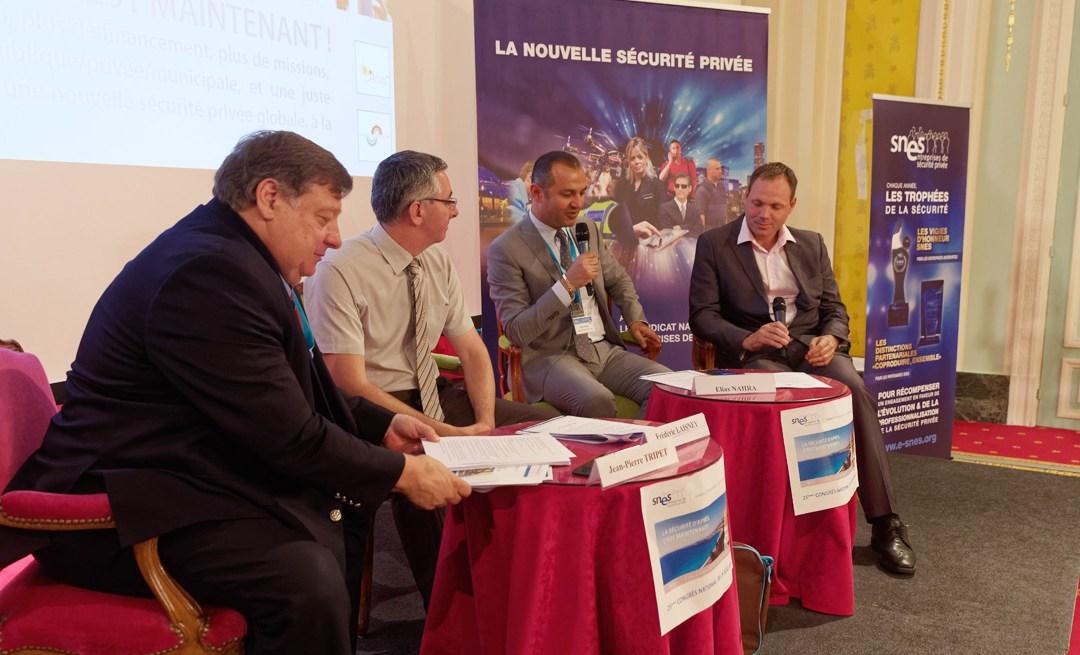Elias Nahra, Vice-Président du SNES, parrain de la Charte de Partenariat SNES – CJCS