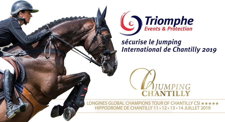 Triomphe Events & Protection déploie une quarantaine d'agents de sécurité pour la sécurisation du Jumping International de Chantilly 2019