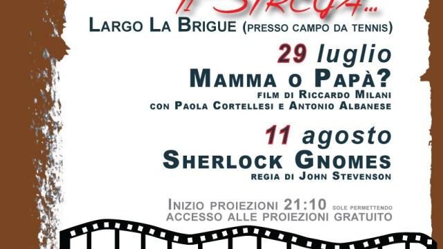 Triora  Il Cinema ti Strega. –  29 luglio e 11 agosto Cinema in Plein Air