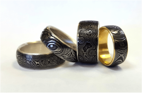 Mens Wedding Bands TRIOS STUDIO