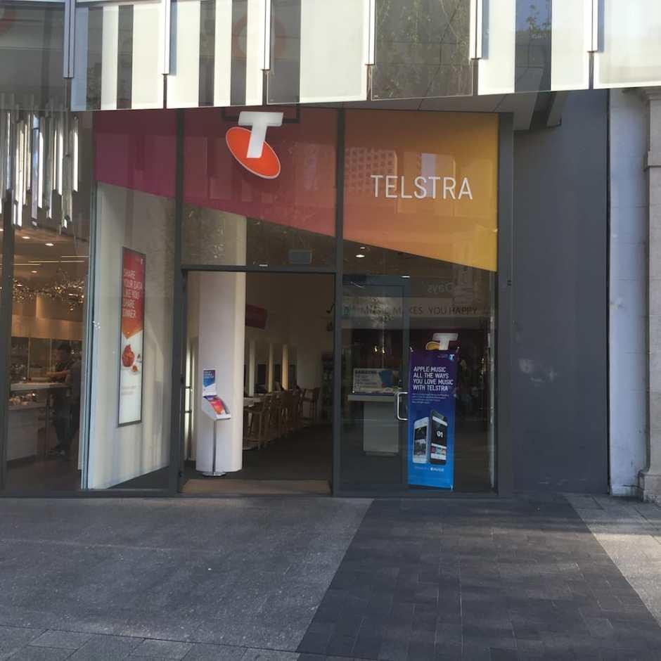L'agence Telstra où nous avons ouvert notre ligne