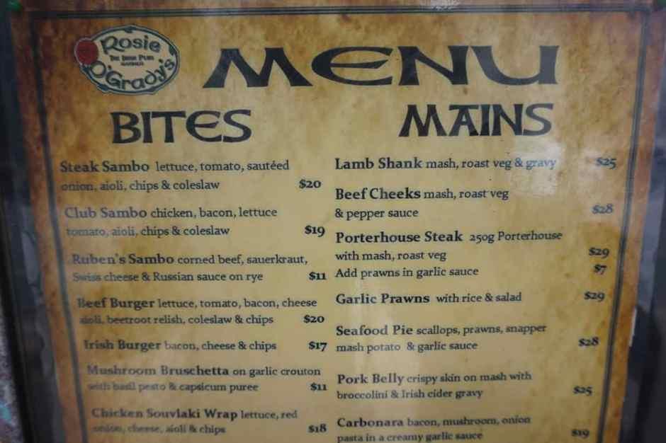 Un restaurant canibal. Ah non ! A lire avec l'accent anglais :)