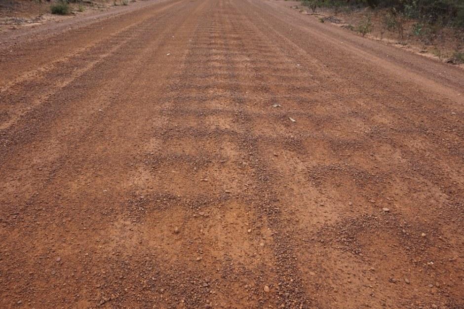 Typique des gravels roads. Ces bosses peuvent parfois nous rendre fous !