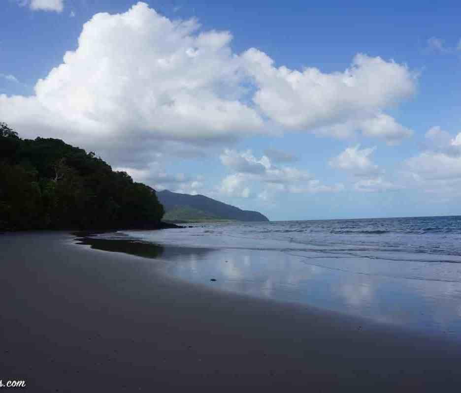 l'une des nombreuses plages