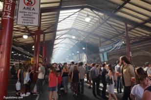 Queen Victoria Market by night, chaque mercredi soir. La sangria est fraîche !