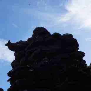 en route pour Pinnacle, petite tête d'escargot !