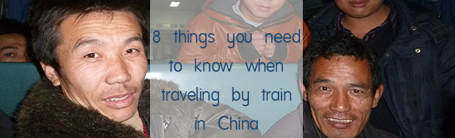 traveling by train in China