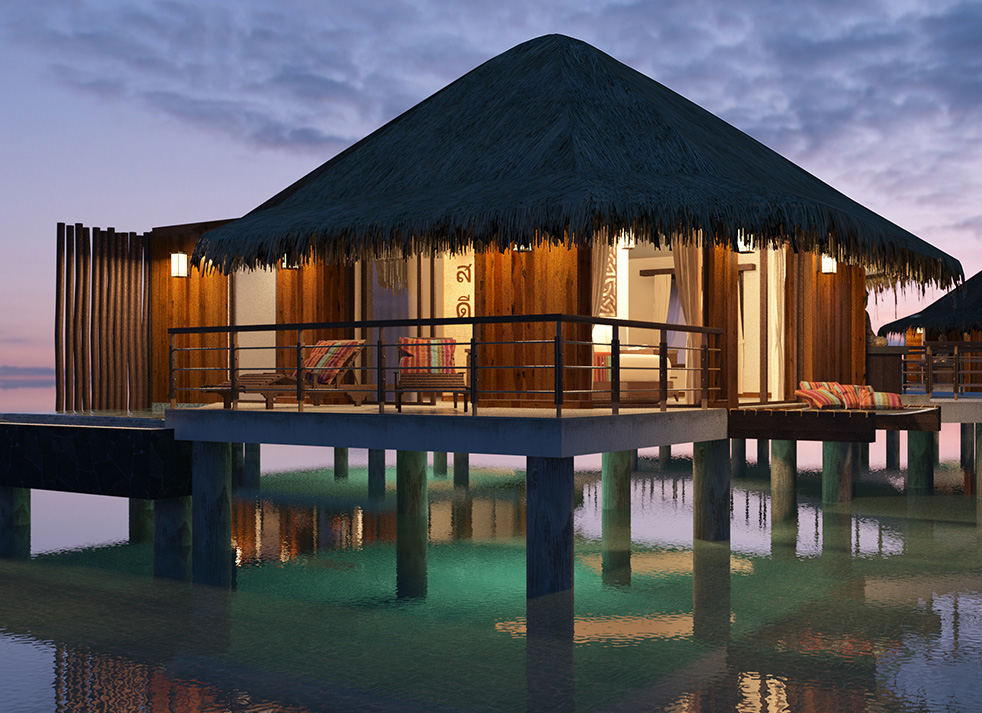 Image result for palafitos overwater bungalows mexico