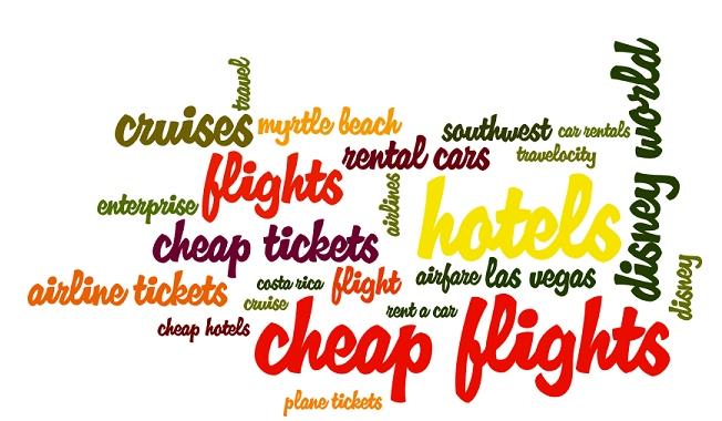 popular travel keywords