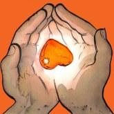 Heart - Drawing by Jean Tripier