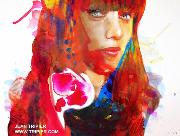 Bathylle - Watercolor