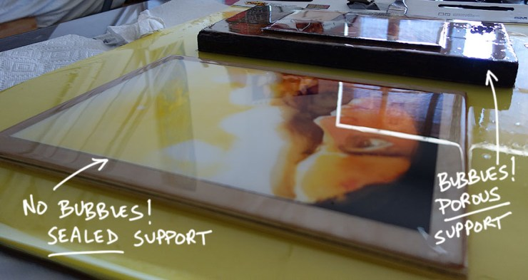 Art resin: coat your artwork with resin
