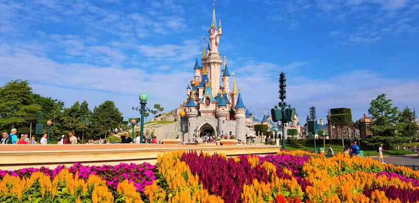 Disney Castle Paris