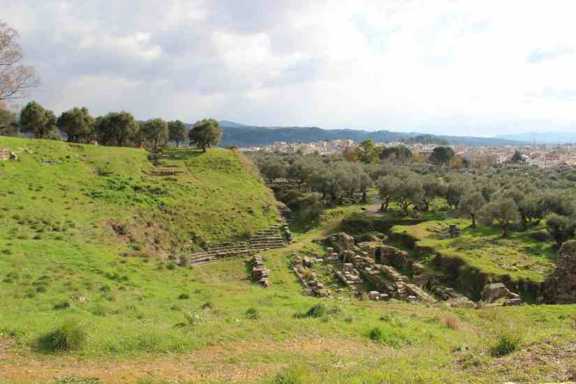 ancient sparta theatre