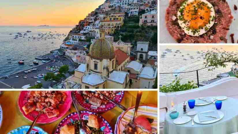 Best restaurants in Positano Italy with a view