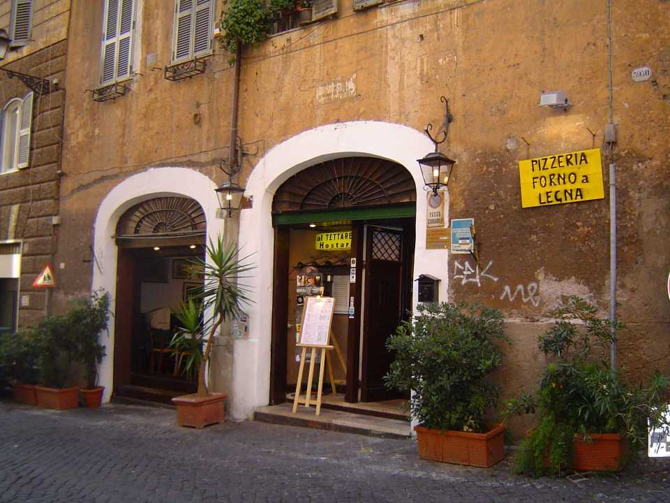 Tasty food in Rome - meat and fish