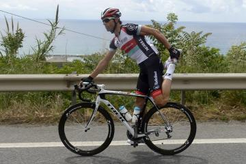Streching in bici - Giro d'Italia