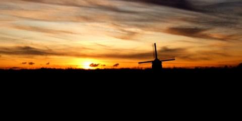 Mulino a vendo a Volendam , Paesi Bassi