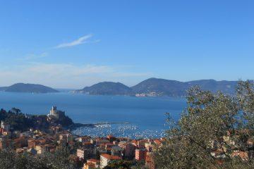 panorama sul porto di lerici