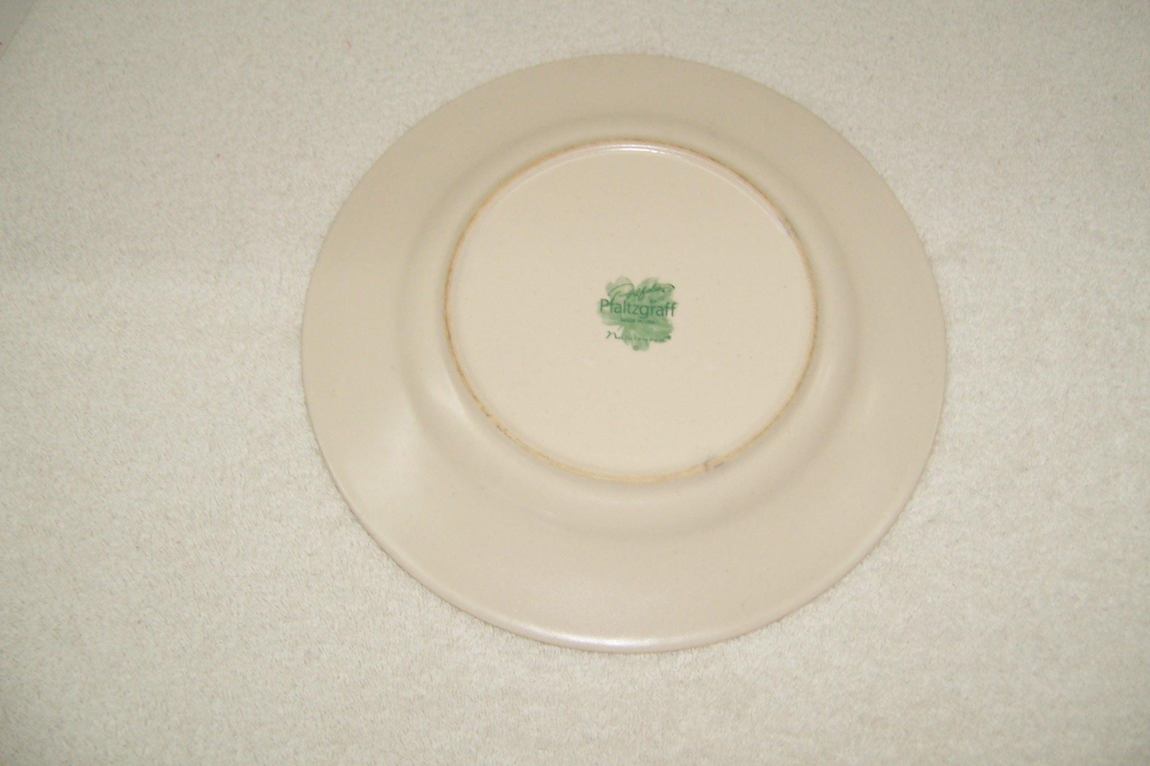 Pfaltzgraff Naturewood Dinner Plate Triple A Resale
