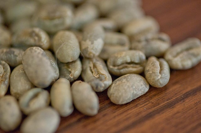 Peaberry Green Coffee Beans