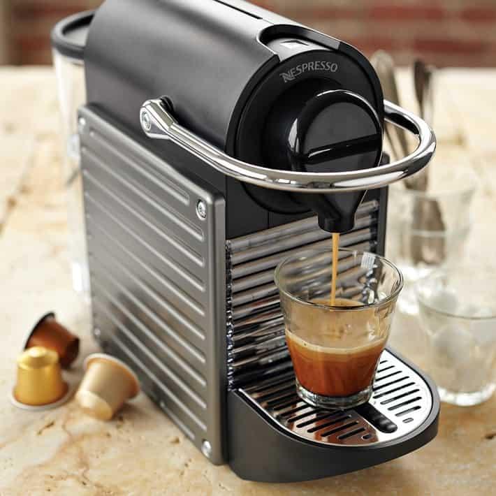 Nespresso Pixie Brewing