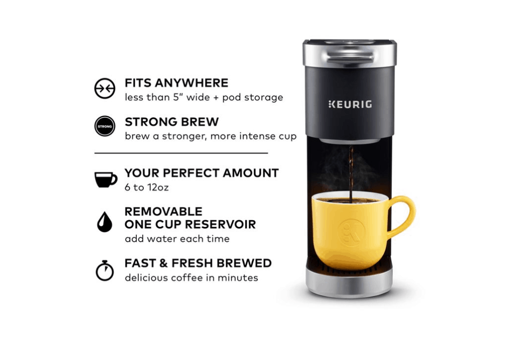 Keurig K-Mini Plus Features